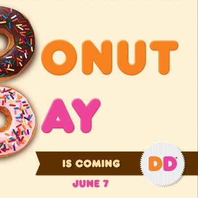Get a free donut with any beverage purchase for #nationaldonutday this Friday. Share the gooDD news. http://t.co/DCylFOMRIr