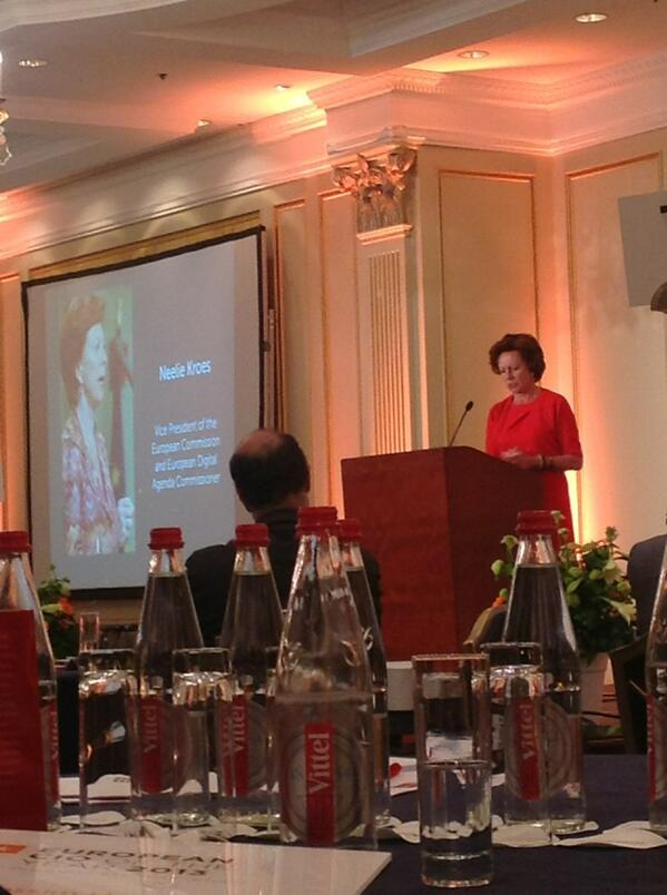 RT @jkleinhoven: European Digital Agenda Commissioner @NeelieKroesEU on the 1mln IT employment opportunity in Europe #cionet http://t.co/OPNApOWd0I