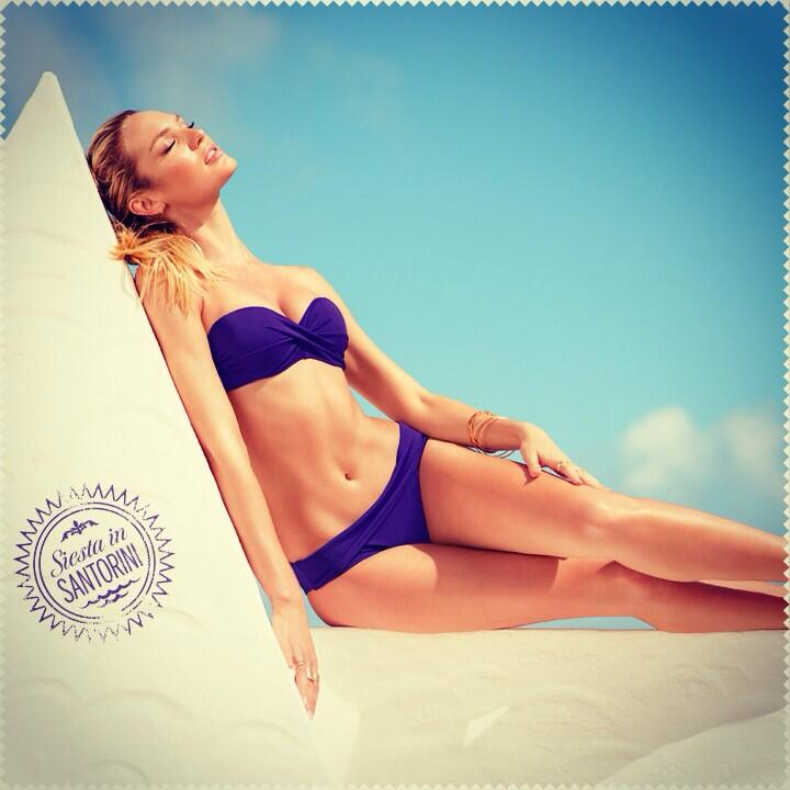 Next stop: Santorini! Let purple reign. #PassportToSexy  #VSSwim http://t.co/tstuEOuBP4