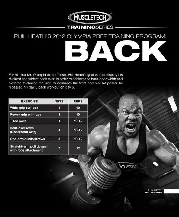 #BackDay w/ @TeamMuscleTech & Phil Heath http://t.co/wnYl2ch8EE