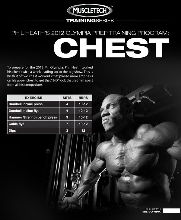 #ChestDay w/ @TeamMuscleTech & Phil Heath http://t.co/GitLM242gx