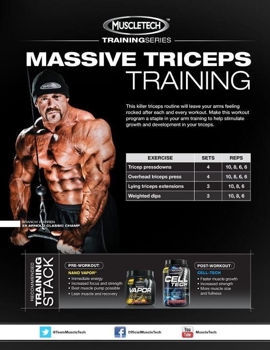 #ArmDay Part 2 from @TeamMuscleTech http://t.co/fss5T1cuXP