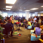 Happy to have @BoxerRebellion in our Oakland office this afternoon. http://t.co/fi4sJFZ2mB