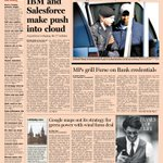 Take a look at the front page of the UK Financial Times - 5 June 2013