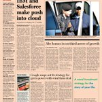 Take a look at the front page of the US Financial Times - 5 June 2013