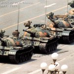 RT @joybhattacharj: June 5th, 1989, Tiananmen Square. A very brave man faced up to a column of tanks. Salute. http://t.co/c189rsBWkH