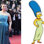 "Good one ! ""@MasalaBai: ROFL! Did Marge Simpson inspire Aishwaryas Cannes look? via @ndtv and @RuchiraSingh http://t.co/ozM7jlRQ5E"""