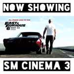 Fast & Furious 6 Screening Schedule: 10:20 FS 10:30 MF 1:10 3:50 6:30 9:00 LFS 9:00 LMF 11:20 END http://t.co/2ZmfKleoMi