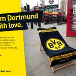 RT @TelegraphSport: Dortmund send a slightly apologetic postcard to London ahead of the Champions League final http://t.co/KZPVqmmmh8