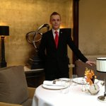 Introducing our new Restaurant Manager, Attila Tornyi! Congrats on your promotion! @TheGrosvenor @SimonRadley_TCG http://t.co/Et9A6kONR7