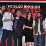 D-Day first look launch with @rampalarjun, @irrfan_k, @humasqureshi and @nickadvani. - http://t.co/cutBuJ608p ::