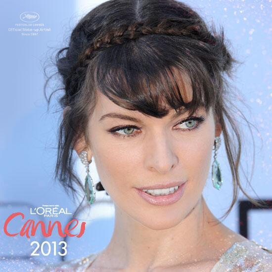 #Cannes2013 @MillaJovovich sigue marcando tendencias, este vez con un peinado http://t.co/GPqU0YOxMP