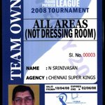 Again I say team is owned by N Srinivasan