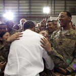"""@BarackObama: This weekend, show our men and women in uniform some appreciation. #MemorialDay http://t.co/bL8ESGzZho"""