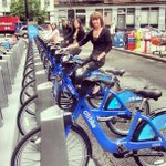 Get ready, @CitibikeNYC launches Monday! More than 850 bikes are already at their stations. http://t.co/tkFznM9MOx