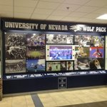 This is an awesome display @ Reno/Tahoe airport! Notice no UNR or Reno! #BattleBorn http://t.co/CU1tvCAgIG