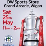 Dont forget! The FA Cup will be appearing at DW Wigan, Grand Arcade tomorrow from 11am today! #wafc http://t.co/QWSvDB7P0S