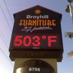 """@PaulFox13: I dont believe it. Maybe 498 degrees, if even that! #flwx http://t.co/sMMH4I6iRw"" Should say BroyHELL"