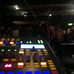 The view from my mixing desk. NGOD currently on stage #threadfest #oneweekendinbradford http://t.co/KbPJj4CQdG