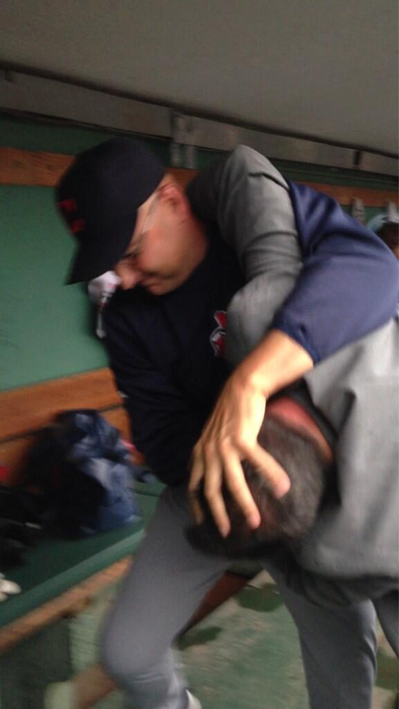 Attack photo's from the manager of the Indians. http://t.co/ITti4rhnDE