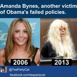Leave Amanda Alone... Oh wait! RT @TeaPartyCat: Amanda Bynes, another victim of Obamas failed policies. So tragic. http://t.co/ctiDaCkjJ9