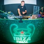 Just played at the @Heineken #IbizaFinal warm up. The match may be at Wembley, but the party is here! :) #Sponsored http://t.co/gGxdSt4tN3