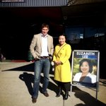 Thank you @alistair_coe for coming out to campaign with my team - we are at #BelconnenMarkets today! #auspol #Fraser http://t.co/RdL294eqQr