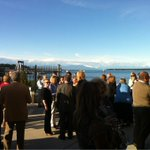 @NanaimoChamber hosts a pretty nice event! Beautiful backdrop at the Port Authority mingler. #bcchamberconf http://t.co/Cio4cDKvSu