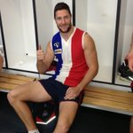 """@jamesfrawley8: Just rocking the old east ballarat jumper for trainin today. #goodolddays #wool #rash http://t.co/guq0g7YpaB"" @BallaratFNL"