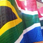 this is the world's largest flag made entirely out of beads and hangs inside SAs constitutional court.. #AfricaDay http://t.co/kS8dMDBo9V""