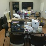 Well, its garage sale day! Well be ready around 7:30. Come out aand support #relayforlife! http://t.co/zSfdEjRPu6