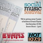 Need free @SocialMusicFest tickets?!! http://t.co/lP7uMD3Sru