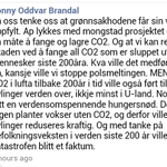 Her er det en som er bekymret for at vi skal få for lite CO2. Da har man sett det også. http://t.co/Zttz9GSno7