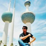 PIC-  Me nd The Kuwait Towers