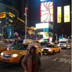 @taslimanasreen now at Times Square