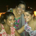 Last night some time with sister @eshukau and my mom in #Kanpur ☺