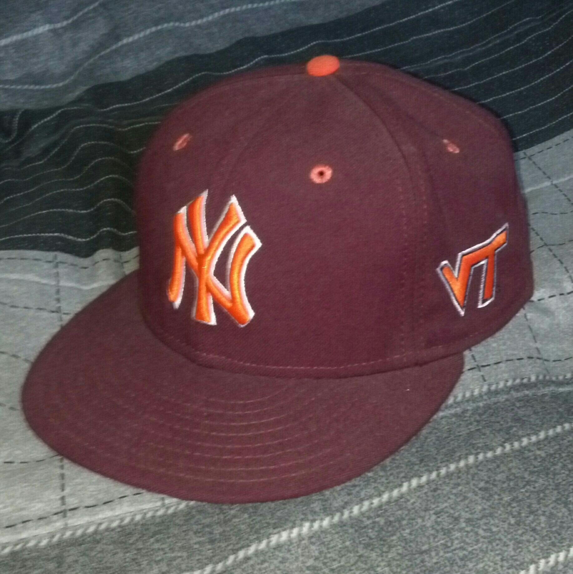 RT @24NYY: @lids4hats Yankees 'Virginia Tech' http://t.co/sVCPv1lo60