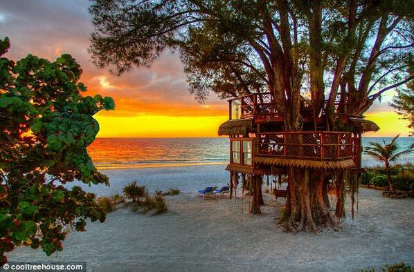 RT @annapettinelli: E' sulla costa della Florida,hanno speso solo 25.000 euro per farla e non credo ce ne siano di più belle al mondo http://t.co/PosT4agw7m