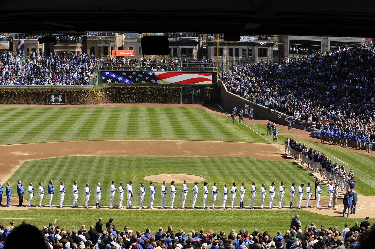 Happy #MemorialDay. We look forward to seeing you at Wrigley Field for Wednesday's #Cubs game against the White Sox. http://t.co/1dWO7m0RwZ