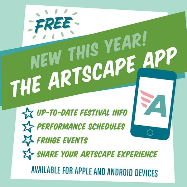 RT @ArtscapeBmore: @MayorSRB just announced all the details for #artscape2013, including our NEW festival app: http://t.co/4PaLhbOU4p