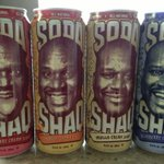 Yo! @DrinkAriZona Just launched the new delicious #SodaShaq! Keep up kids :-) Comin to stores very soon http://t.co/1jqNFEAazM