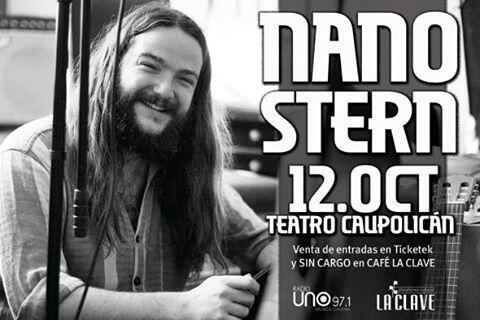 RT @inti_illimani: en octubre... el Nano se toma el Caupolicán. Acompañe al querido @NanoStern en su concierto del 12 de octubre. http://t.co/RfLnLVLv5h