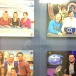 ITV corridor wall of shame QI
