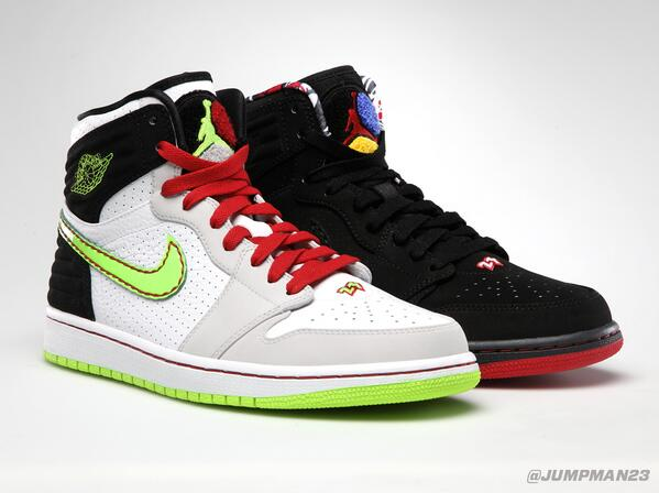 Two more colorways of the Air Jordan 1 Retro '93 drop this Saturday. Which look is more your style? http://t.co/JcQC9x4SkY