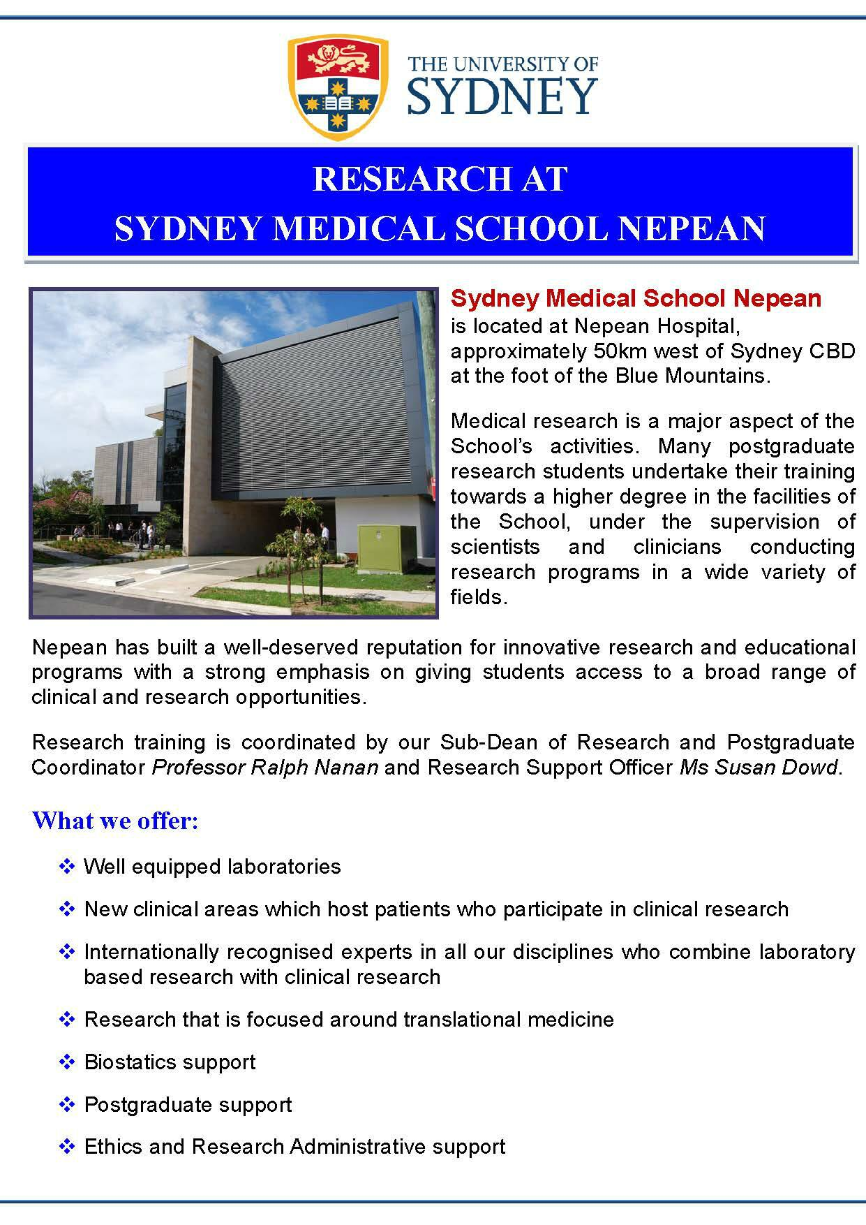 Interested in joining our team at Nepean? http://t.co/HgyWUN2xGn