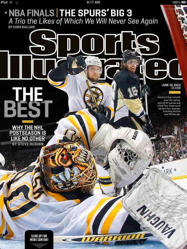 RT @BruinsDaily: The #Bruins are on the cover of SI this week https://t.co/0w010Zfv3p