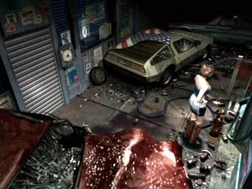 RT @RETR0JOE: Oh that explains it. Zombie Doc Brown went back to the future…resident evil 3 http://t.co/xecXjUgwAj