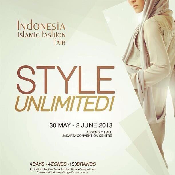 Oia soBat,bagi pecinta fashion muslim Indonesia. jngn lupa ya besok akan ada acara @IIFF_2013 loh di JCC . :) http://t.co/AgjvTA9NdZ