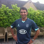 RT @surreycricket: And fantastic to see this gentleman back with the team @AzharMahmood11