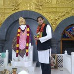 Visited replica Shirdi SaiBaba temple on the SaiRam EngineeringCollege campus. Now at Velammal College Graduation Day